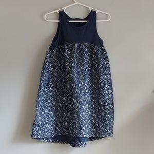 Baby Gap floral tank dress